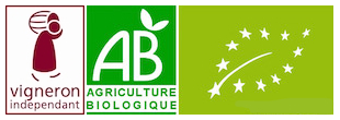 vigneron indépendant en agriculture biologique certifiée AB